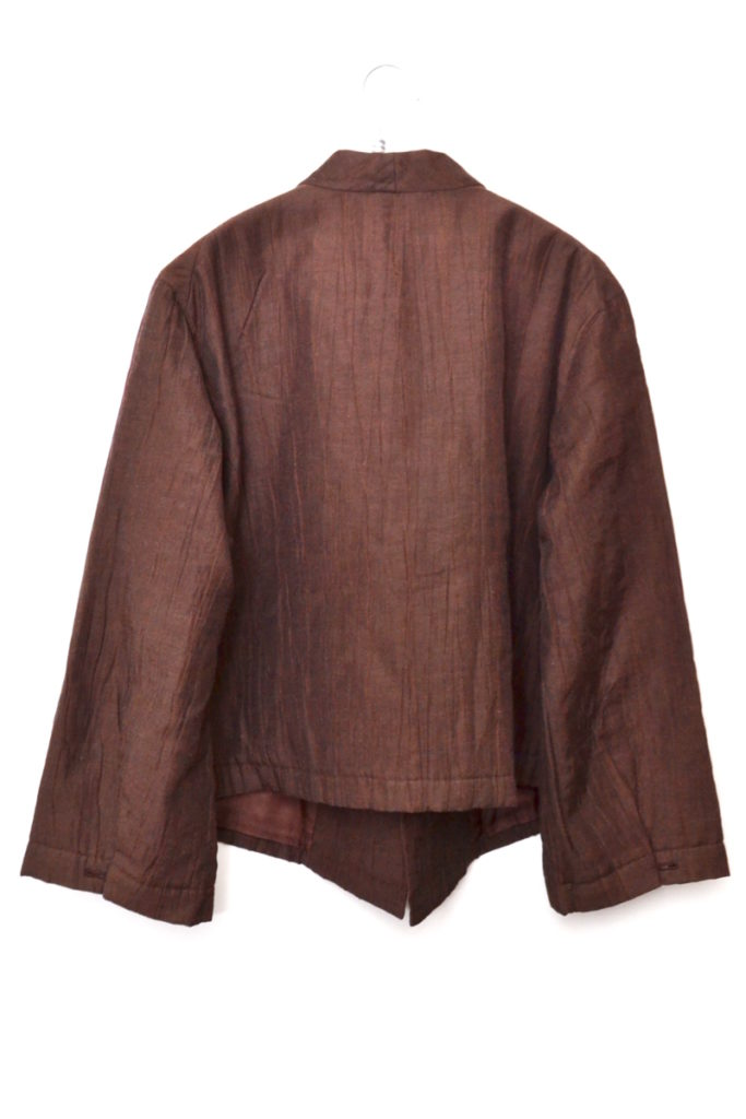 2000AW/コットンリネン シワ加工 中綿 前重ねジャケットの買取実績画像