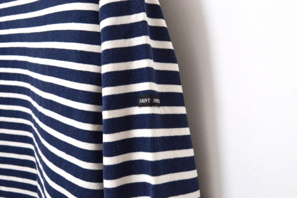OUESSANT ウェッソン エルボーパッチ付きバスクシャツの買取実績画像