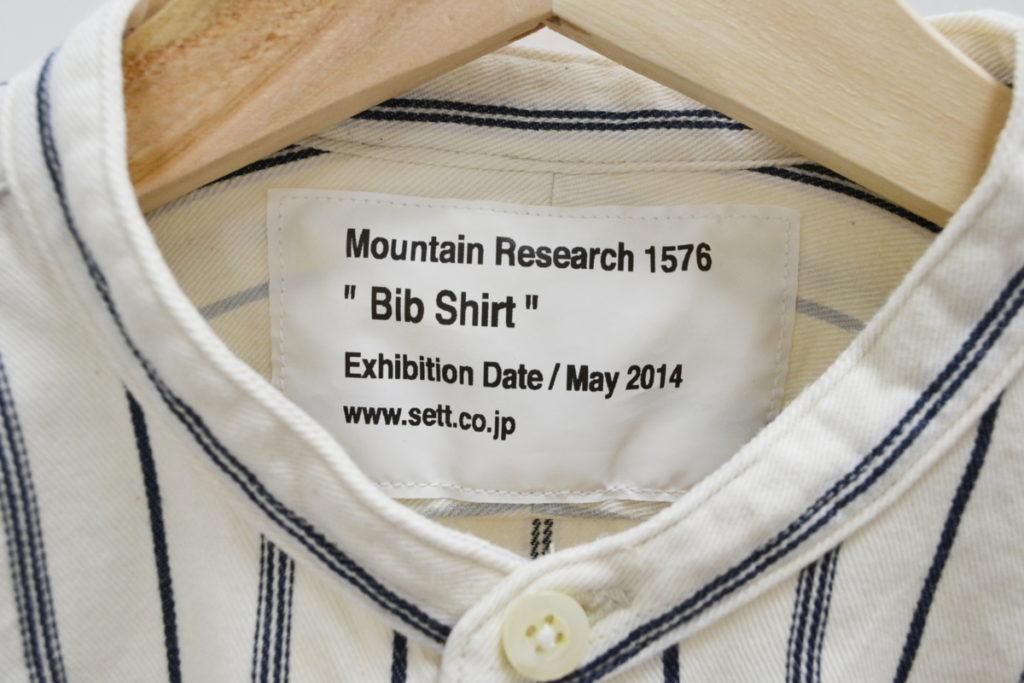 2014AW/Bib Shirt ビブシャツ フランネル プルオーバーシャツの買取実績画像