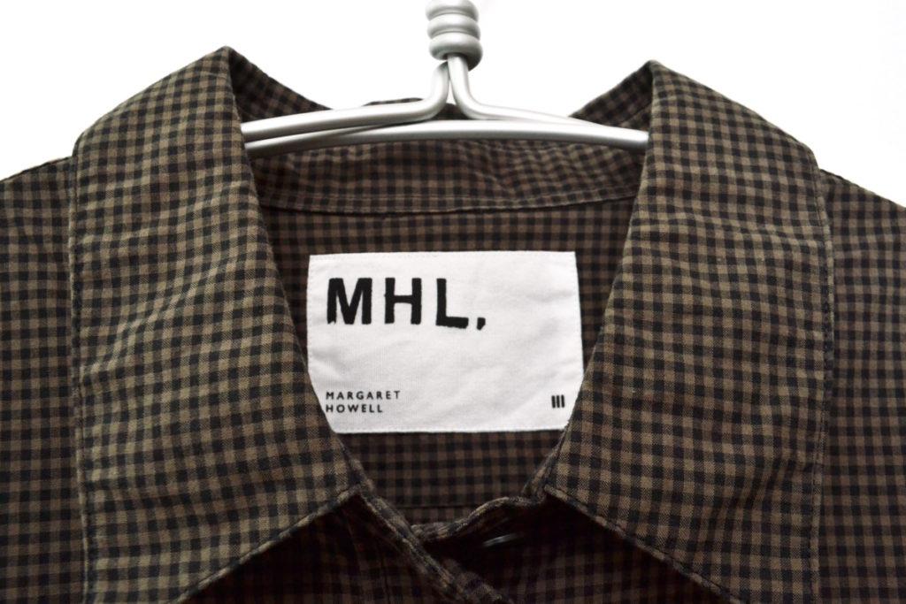2016SS/斜めポケット ギンガムチェック レギュラーカラーシャツの買取実績画像