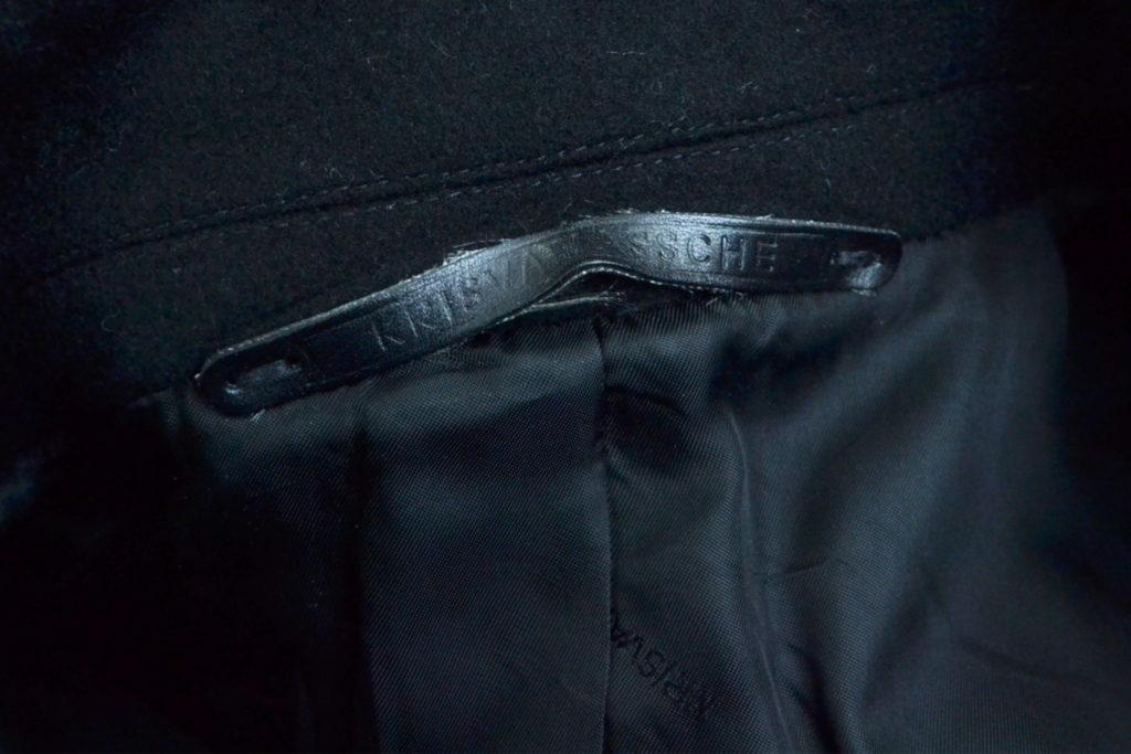 カシミヤ混紡メルトン フロントジップ チェスターコートの買取実績画像