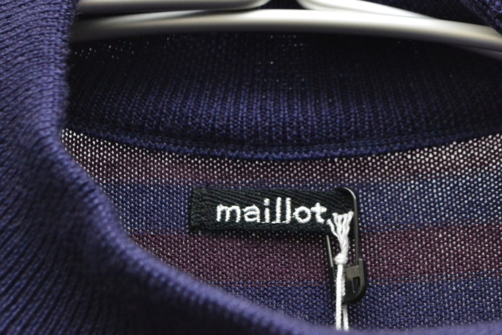 2018AW/mature マチュア ハイゲージ マリン ニット セーターの買取実績画像