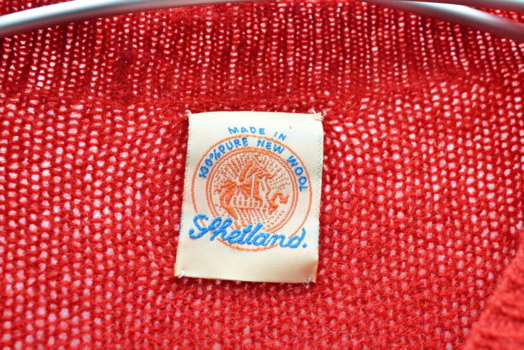 シェットランドニットセーターの買取実績画像