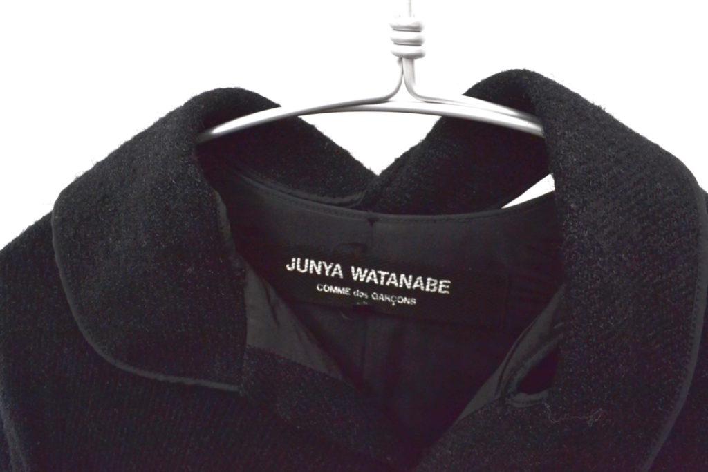AD2002 02AW/変形襟 ウール ワイドシルエット コートの買取実績画像