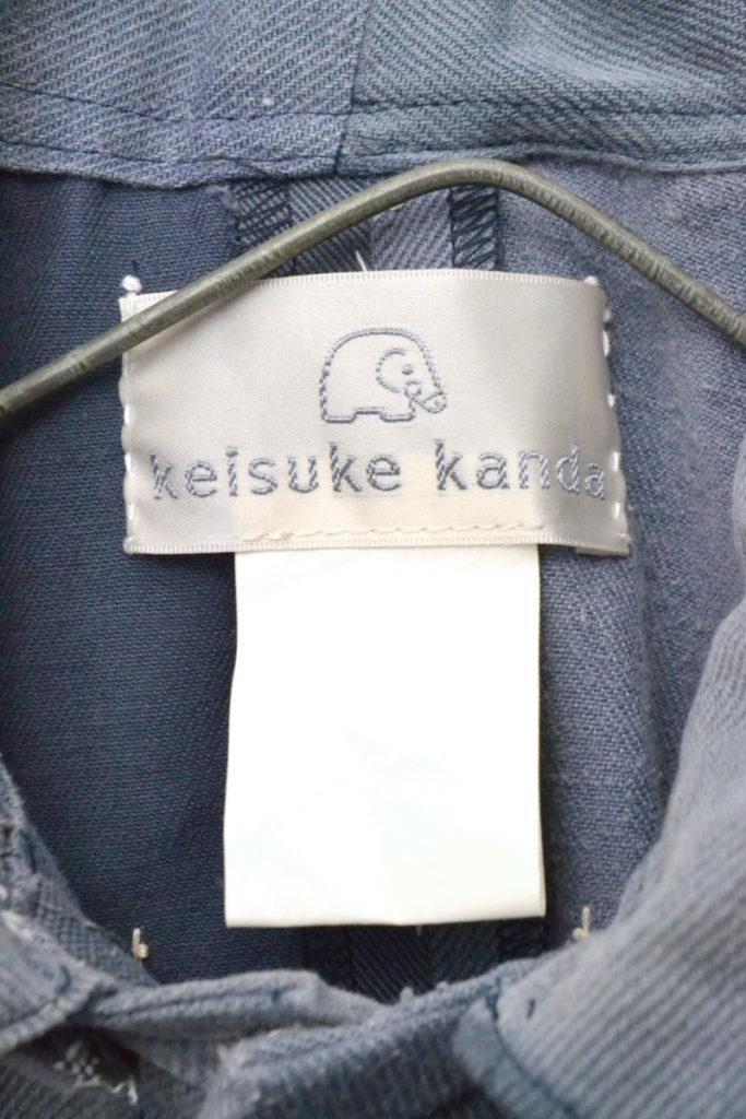 古布 手縫い 再構築 フード付きコート ジャケットの買取実績画像