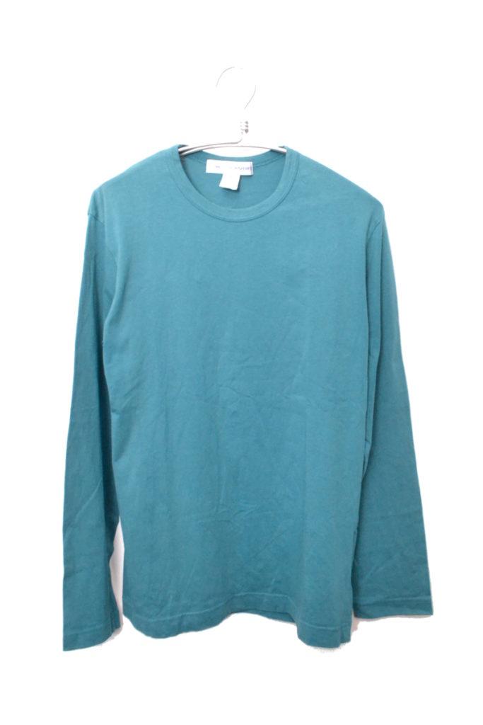 バックロゴプリント 長袖カットソー Tシャツ
