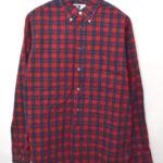 19th B.D.SHIRT チェック ボタンダウンシャツ