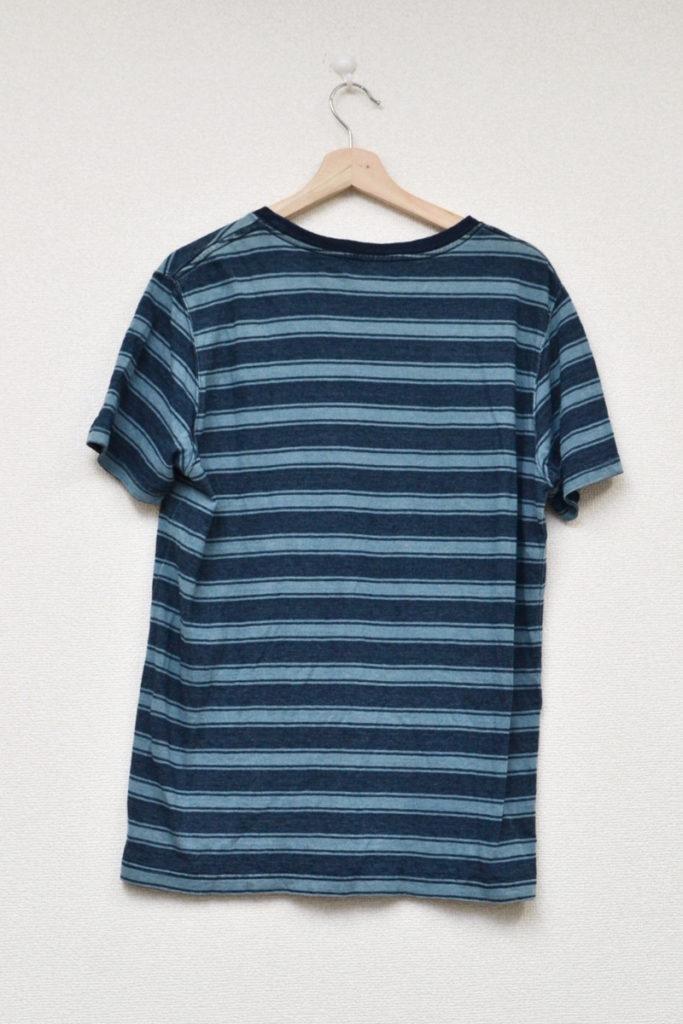 × Pilgrim Surf+Supply × BEAMS PLUS◆インディゴ染め ボーダー カットソー Tシャツの買取実績画像