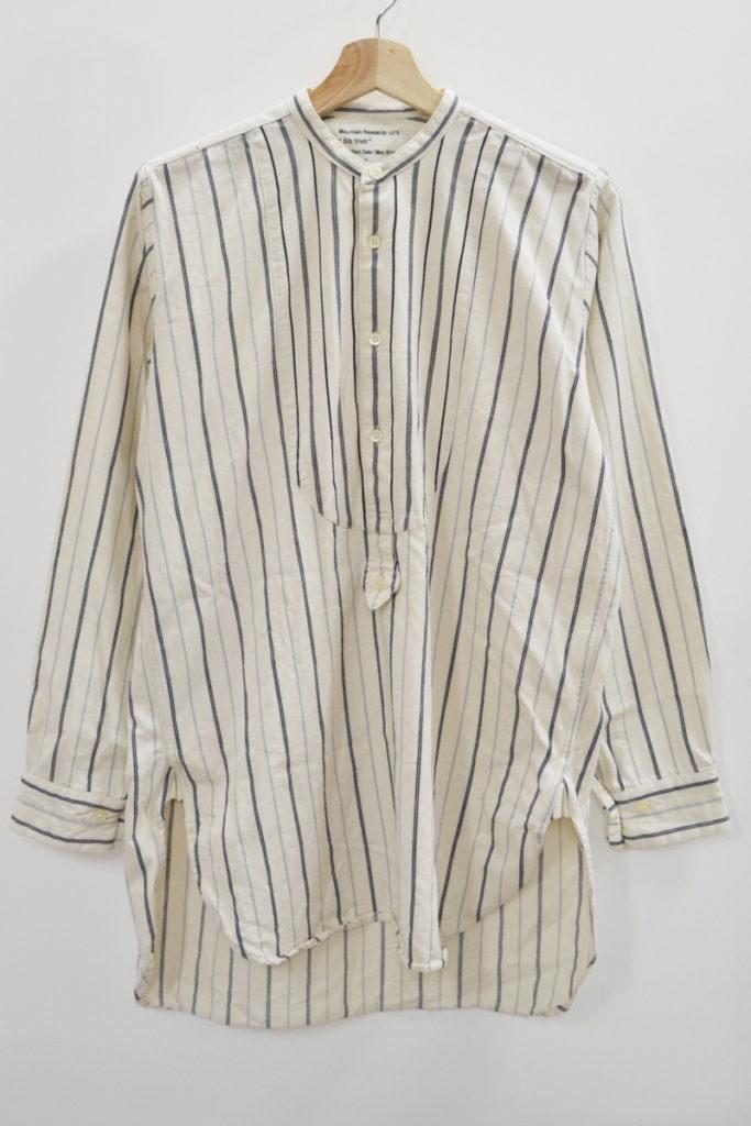 2014AW/Bib Shirt ビブシャツ フランネル プルオーバーシャツ