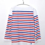 French Sailor T-Shirt ラッセル フレンチセーラー パネルボーダーバスクシャツ