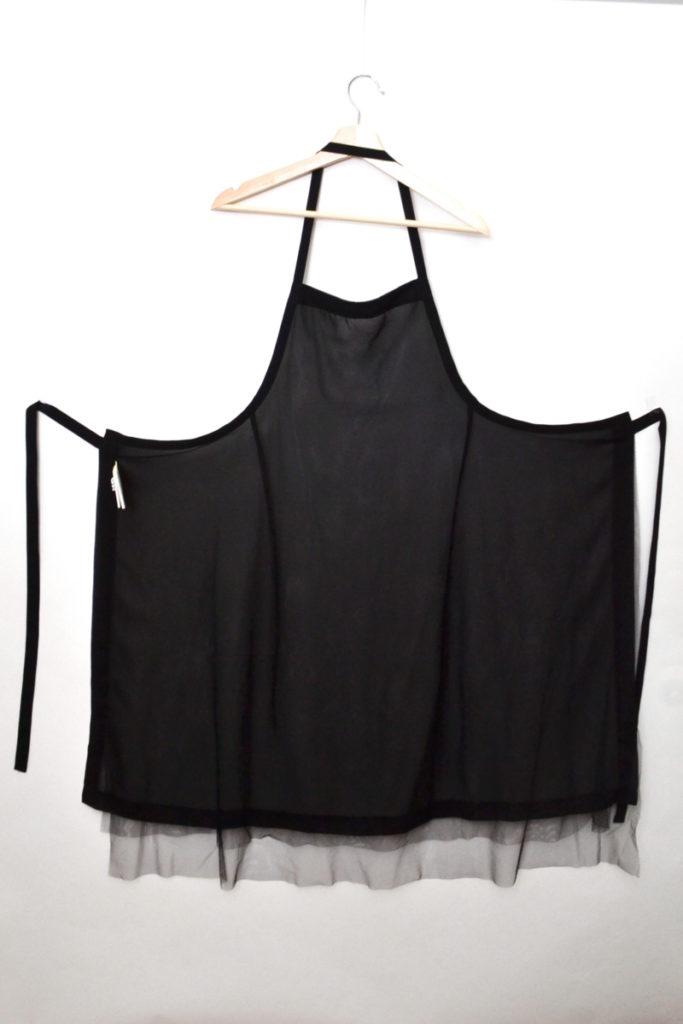 AD2018 18AW/2重チュール エプロン ドレスの買取実績画像