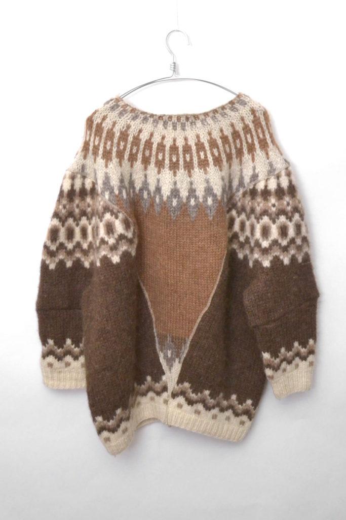2016AW/ リメイク ワイドノルディックニット セーターの買取実績画像