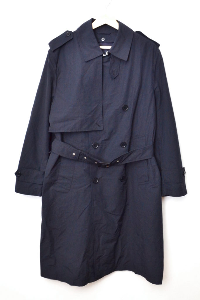 × BLUE BLUE/TRENCH COAT 3WAY トレンチコート