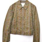 AD1997/ サイドホール 花柄 スイングトップジャケット