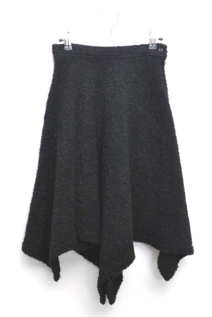 AD1991/ウールパイル フレアスカート