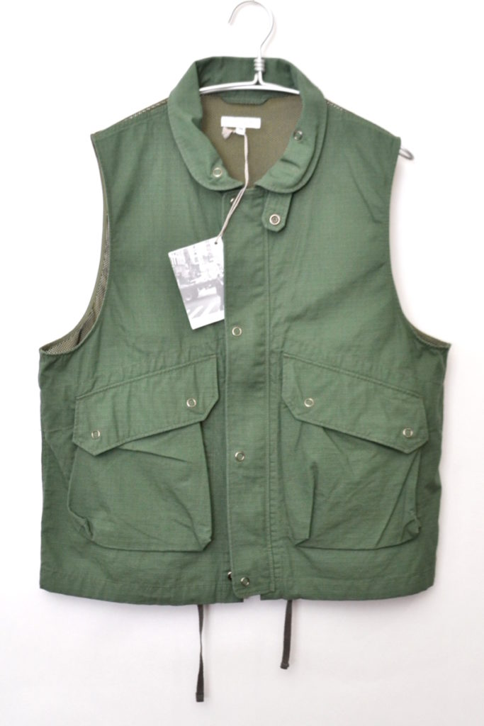 FIELD VEST Cotton Ripstop フィールドベスト