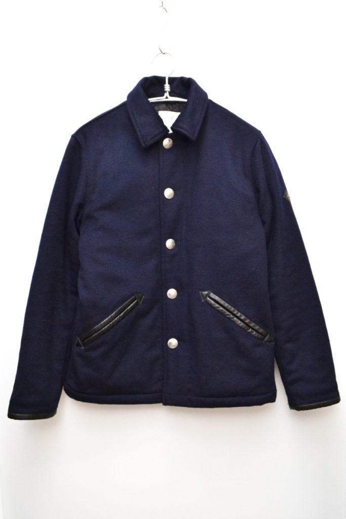 ウール コンチョボタン 中綿 ジャケット
