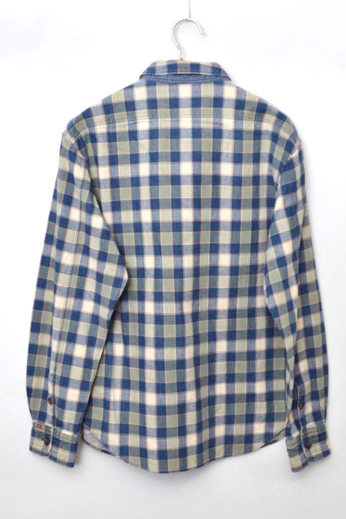 ヴィンテージ加工 チェックプルオーバーシャツの買取実績画像
