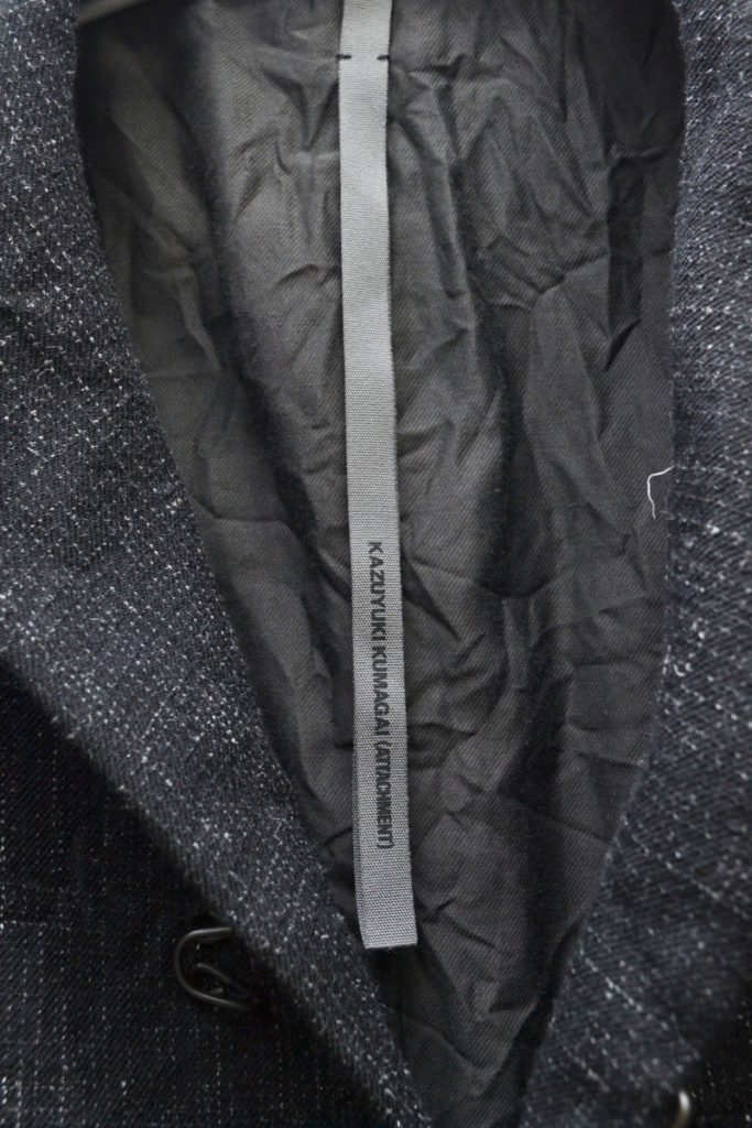 ウールヘンプ絣ギャバテーラードジャケットの買取実績画像