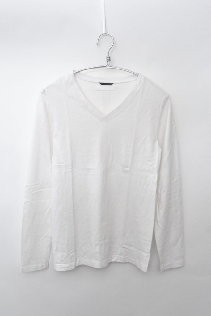 SERIBU V L/S セリブ 背リブ Vネック長袖Tシャツ カットソー