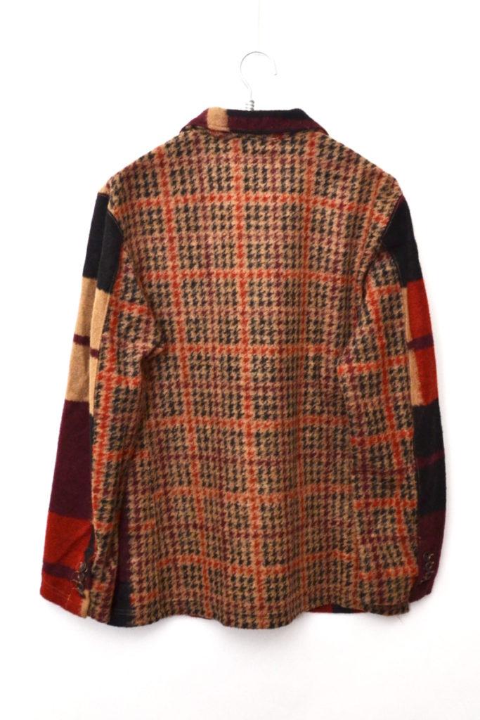 2018AW/ Knit Jacket – Gun Club Multi Check Knit ニットジャケットの買取実績画像