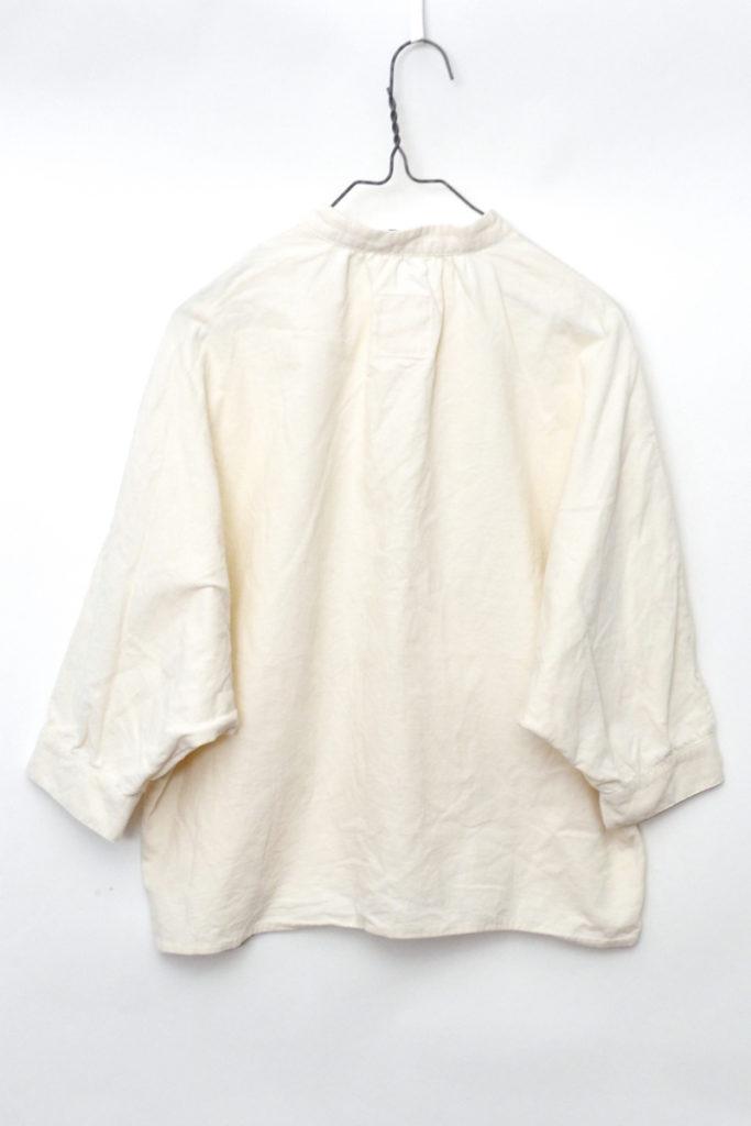 コットン コーデュロイ スタンドカラー ドルマンスリーブ シャツの買取実績画像