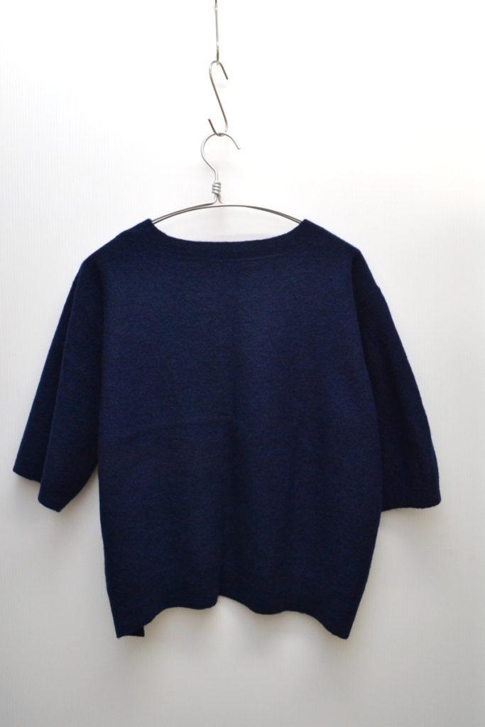 ボートネック 半袖 ニット セーターの買取実績画像
