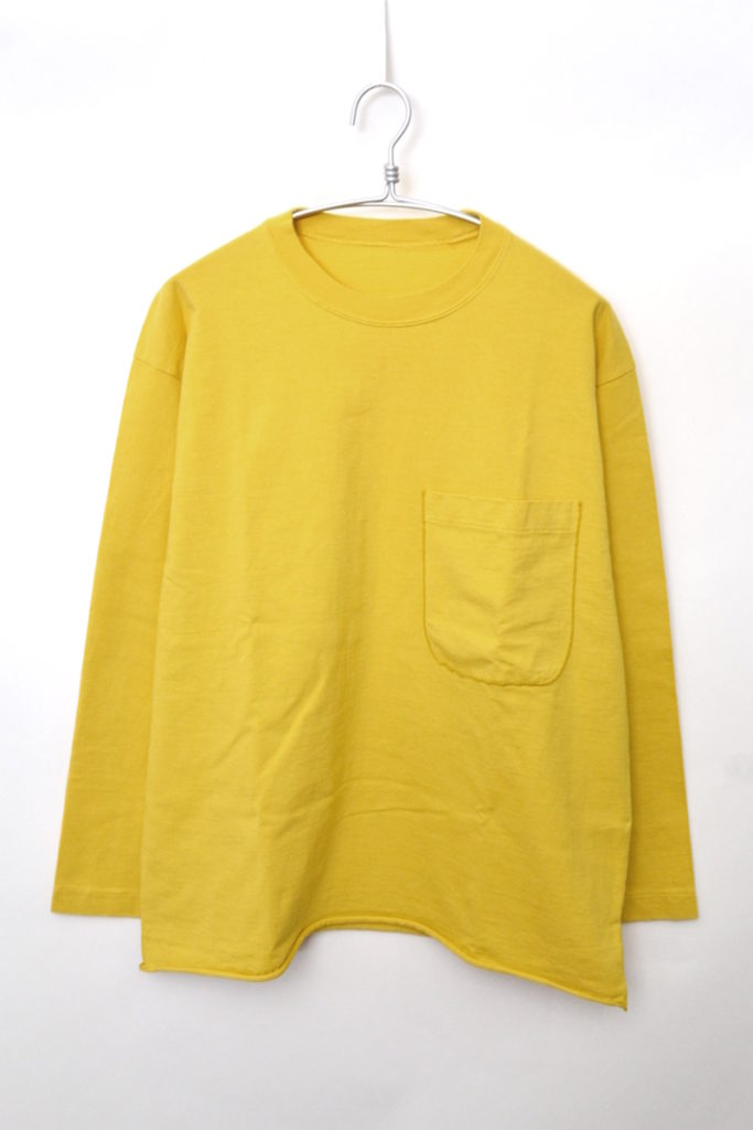 8232 ブッカT ポケット付きカットソー Tシャツ