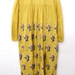 sand rose コットン シルク 花柄 刺繍 ドレス ワンピース