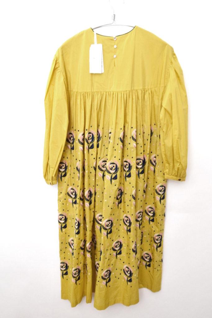 sand rose コットン シルク 花柄 刺繍 ドレス ワンピースの買取実績画像