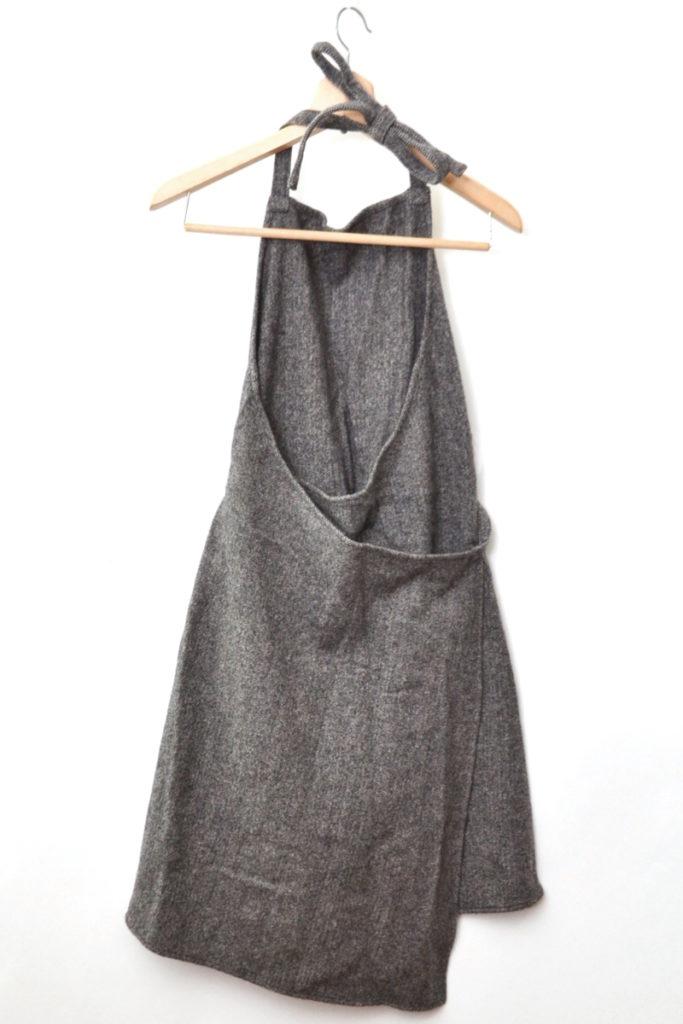 ヘリンボーンツイード 巻きジャンパースカートの買取実績画像