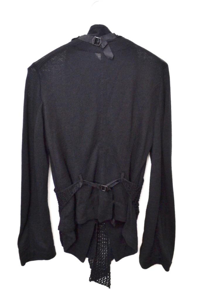 Y's red label Yohji Yamamoto/フロント メッシュ ジャケットの買取実績画像