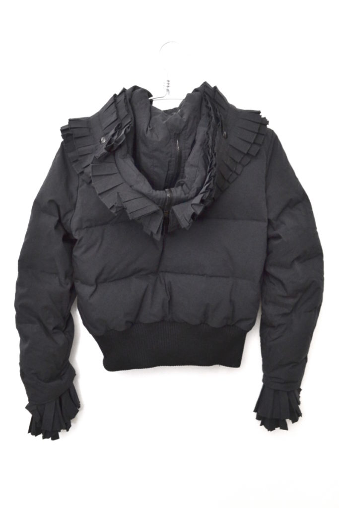 襟 袖フリル 中綿ジャケットの買取実績画像