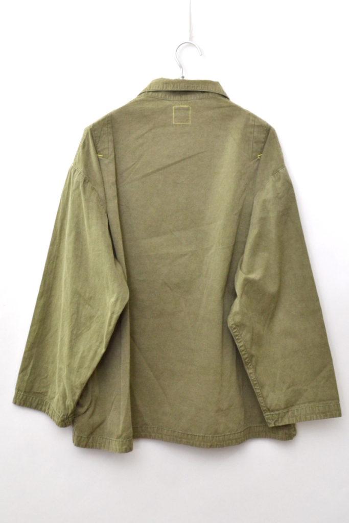 POPLIN SHIRT JACKET ポプリンシャツ ジャケットの買取実績画像