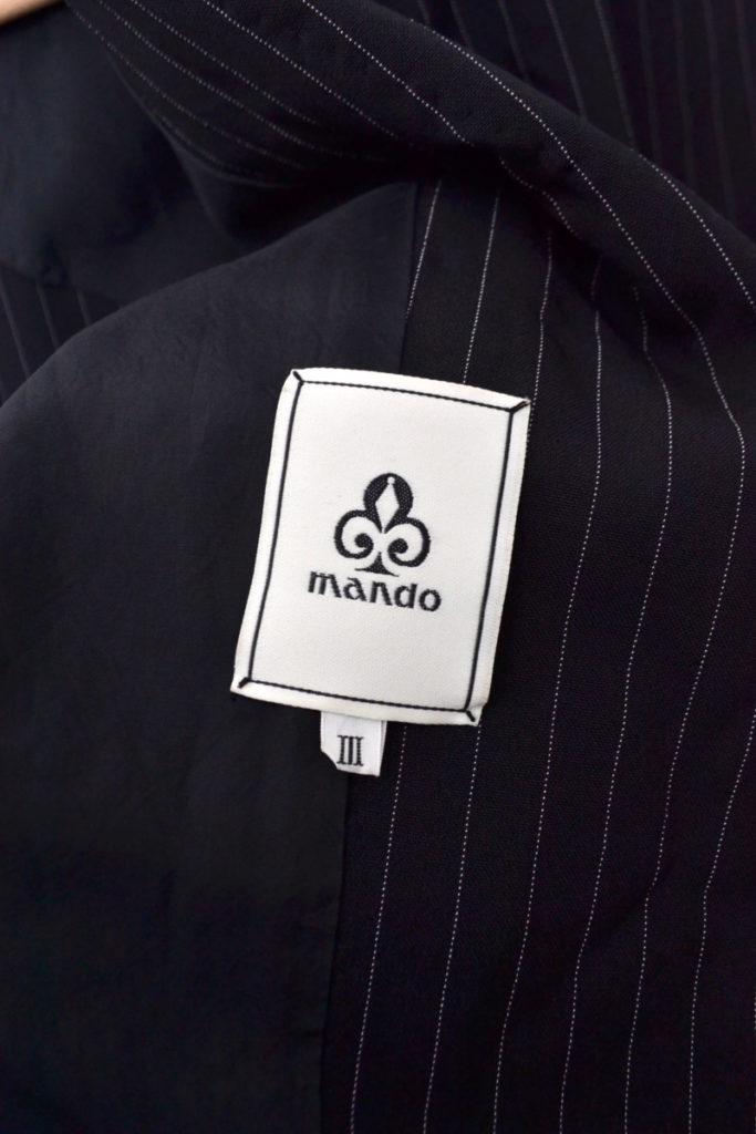 ストライプ ポリエステル ジャケット カーゴパンツ セットアップの買取実績画像