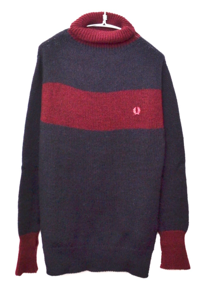 × FRED PERRY ◆ 2015AW/ Goal Keepers Roll Neck ロールネックニット セーター