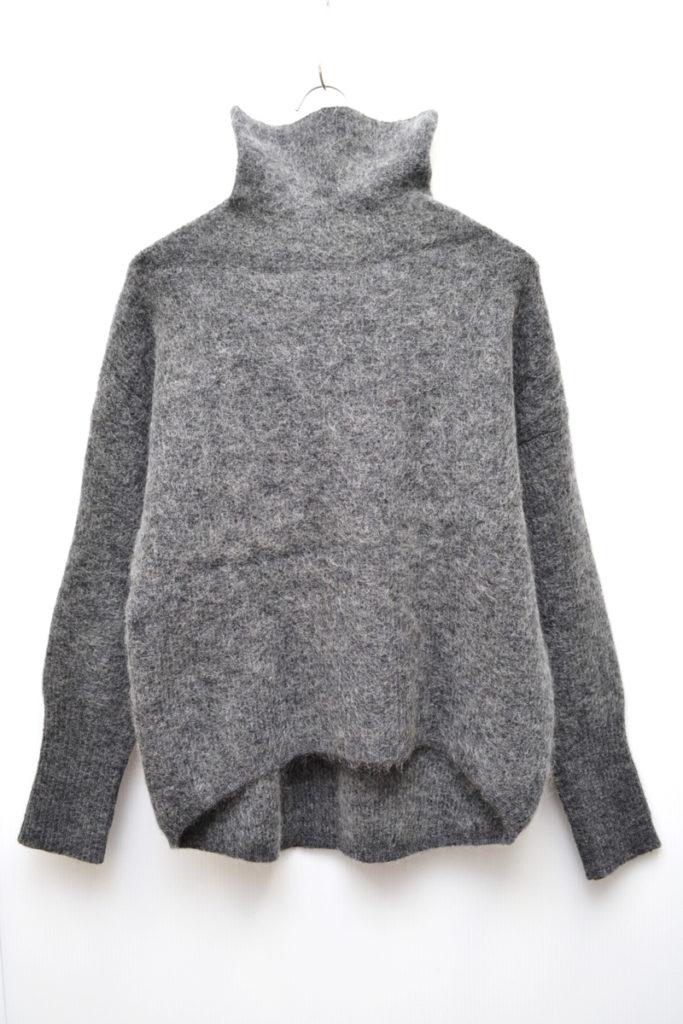 2015AW/VELOUR モヘア混紡 タートルネックニット セーター