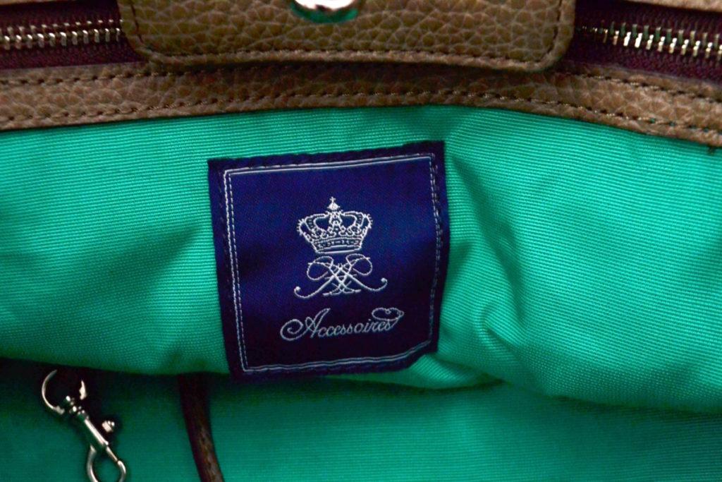 グレインレザー ハンドバッグの買取実績画像