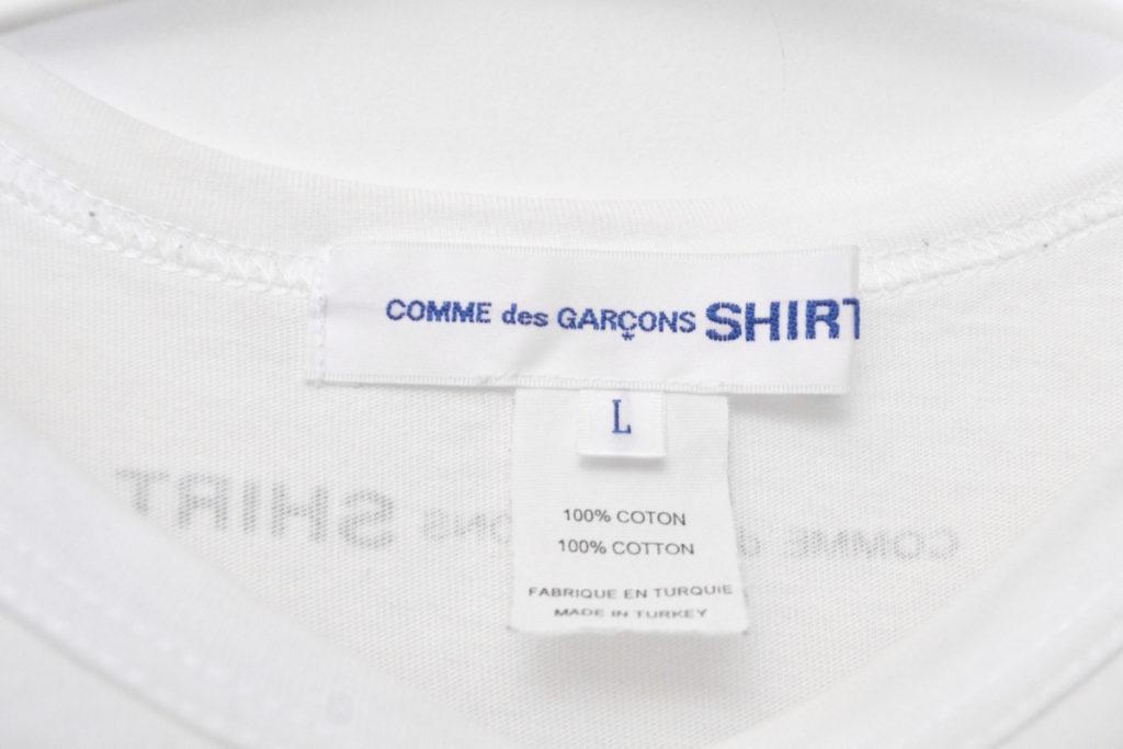 バックロゴ プレーンTシャツ 無地の買取実績画像
