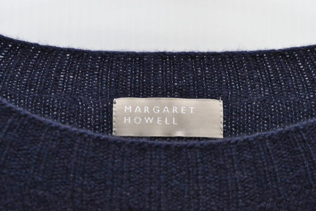 ウール カシミヤ シルク クルーネックニットセーターの買取実績画像