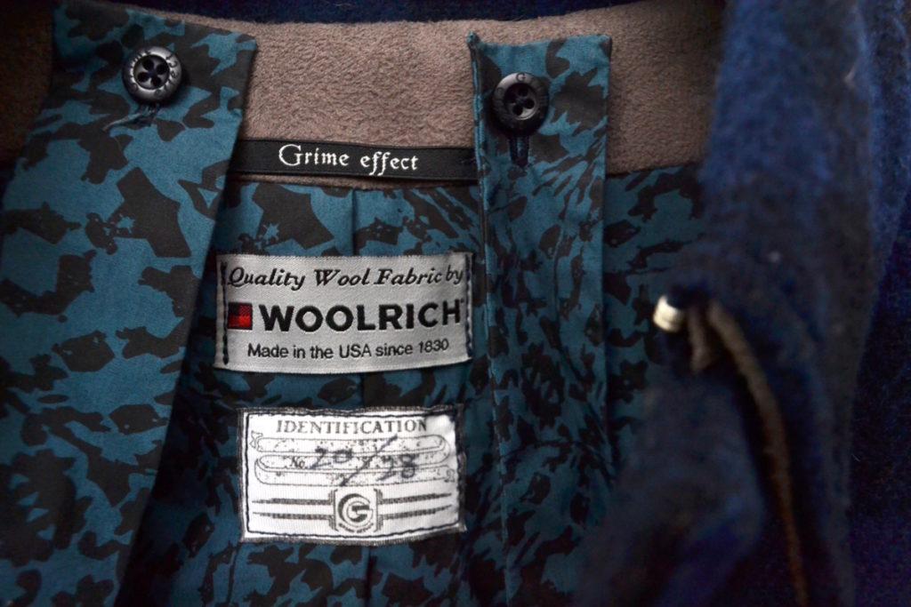 WOOLRICH SINGLE PEA COAT ウールリッチ生地 シングルPコートの買取実績画像