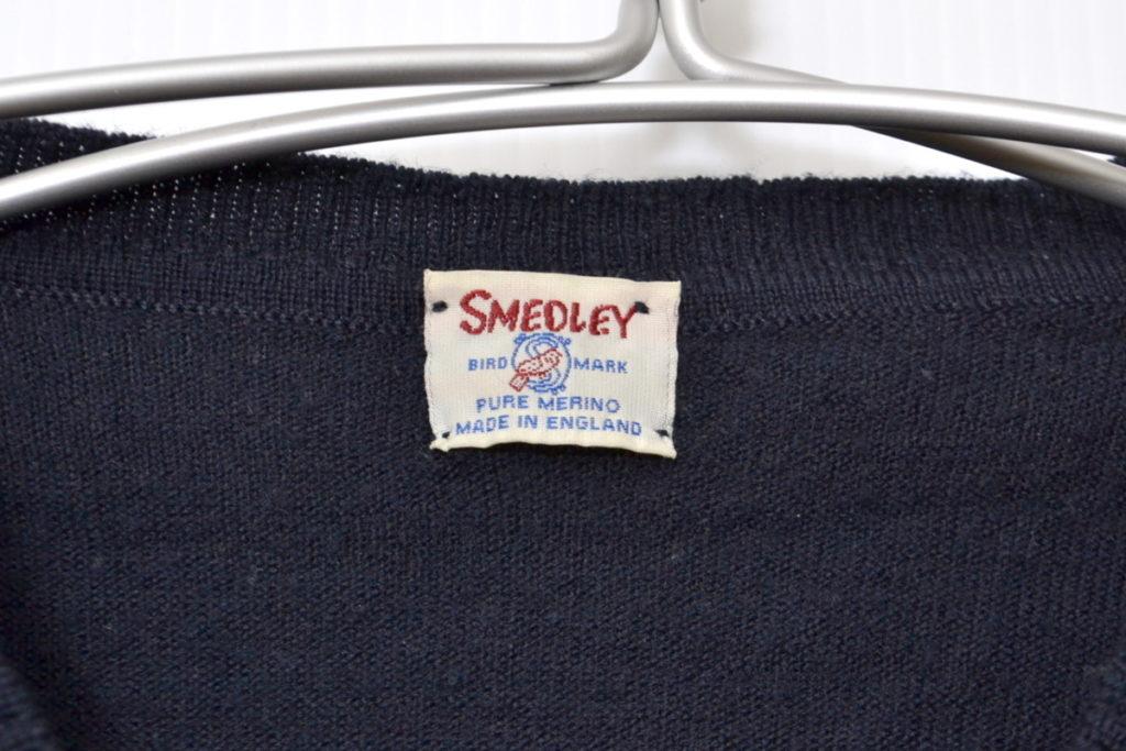 ヴィンテージ バードマークタグ メリノウール Vネックニット セーターの買取実績画像