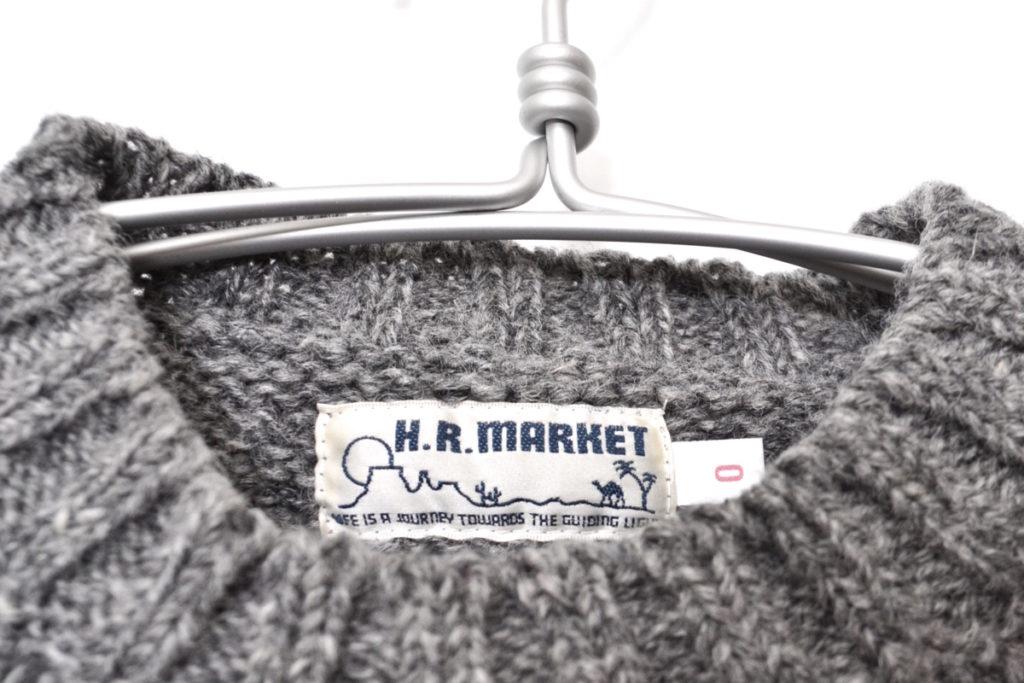 フロントH クルーネック ローゲージニットセーターの買取実績画像