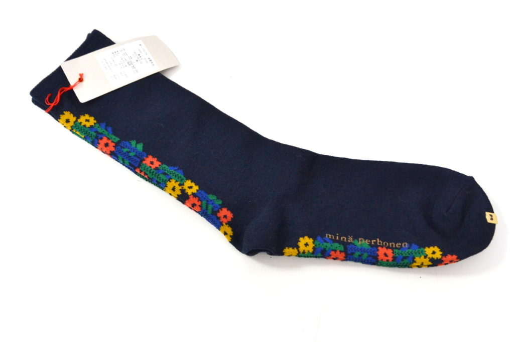 2019AW/ kukka-paraati 花柄 ソックス 靴下の買取実績画像