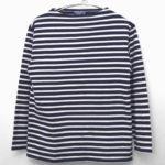 L'ATELLIER/ウエッソン ボーダーバスクシャツ