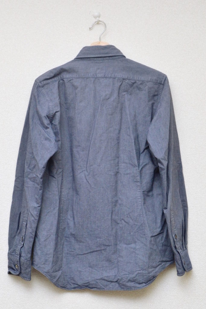 BRITISH OFFICER'S SHIRT OXFORD ブリティッシュオフィサーズシャツ オックスフォードの買取実績画像