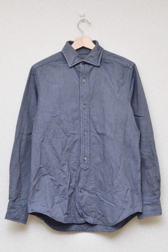 BRITISH OFFICER'S SHIRT OXFORD ブリティッシュオフィサーズシャツ オックスフォード