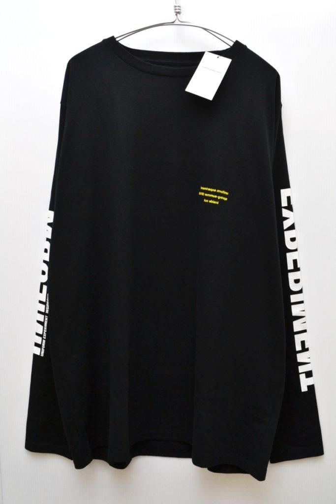 18SS/L/S BIG TEE 長袖 ビッグTシャツ カットソー