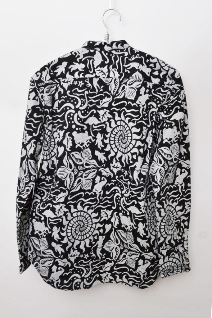 2016SS/Sea L/S Collar Band Shirt 総柄バンドカラーシャツの買取実績画像