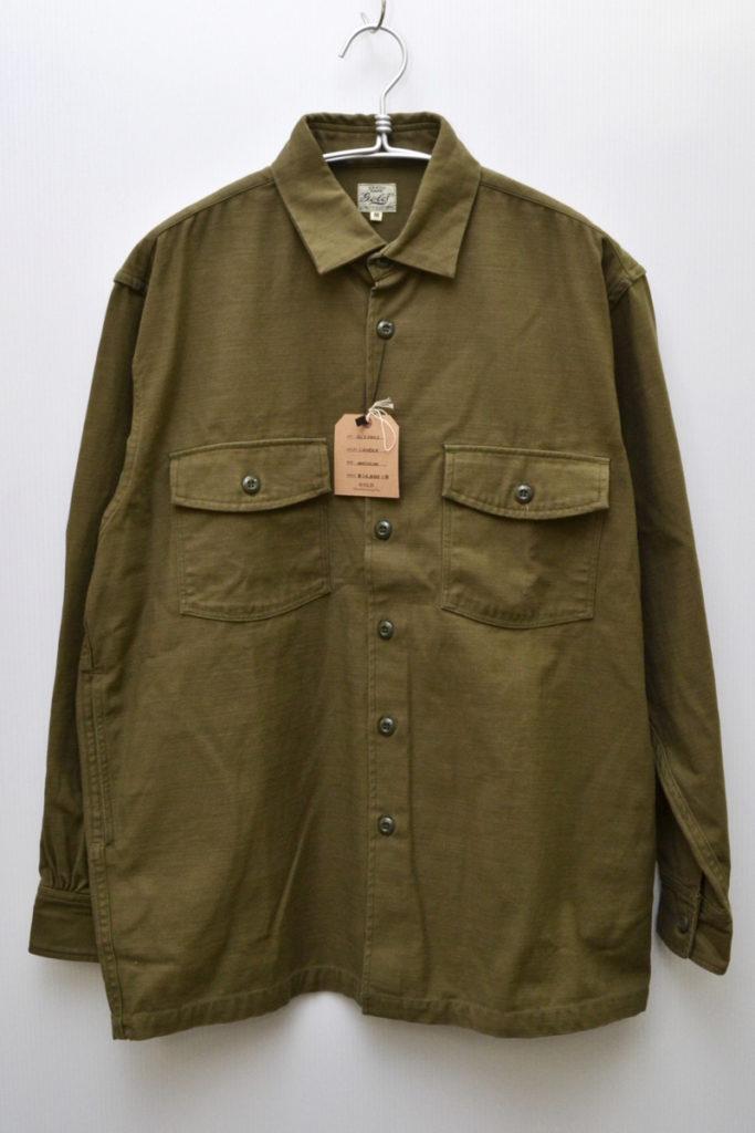 ACKSATIN SHIRT JACKET 'VIET-NAM MAP バックサテン シャツジャケット